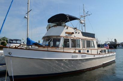 1974 42' Grand Banks-42 Classic Trawler (Hull#422) Rockland, ME, US