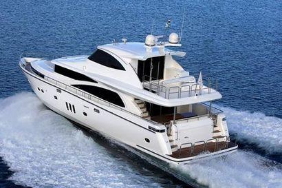 2022 80' Johnson-Motor Yacht w/Hydraulic Platform TW