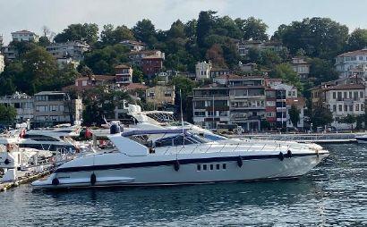 1998 82' 3'' Mangusta-80 Istanbul, TR