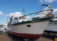 1991 Classic Ten Broeke 36 Steel motorboat