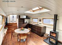 2018 Wide Beam Narrowboat Metrofloat 60 x 12 Enclosed Cratch