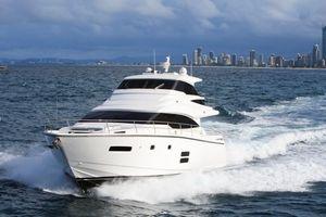 2022 70' Johnson-70 Motor Yacht Sky-Lounge TW