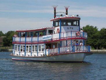 1987 65' Custom-East Bay Boat Works Paddle Wheeler Oakdale, NY, US