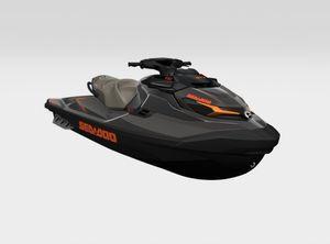 2021 Sea-Doo GTX 230 Eclipse Black / Orange Crush