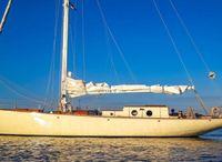 1946 Klassiek Scherp Jacht Flush Deck Sloop