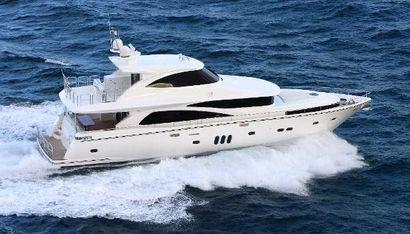 2022 80' Johnson-Motor Yacht w/Fishing Cockpit TW