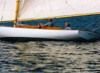 2004 Herreshoff Buzzards Bay 25 Gaff  Sloop