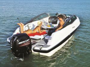 2021 Fibrafort 210 bowrider met Mercury 150 EFI inc hyd besturing direct leverbaar