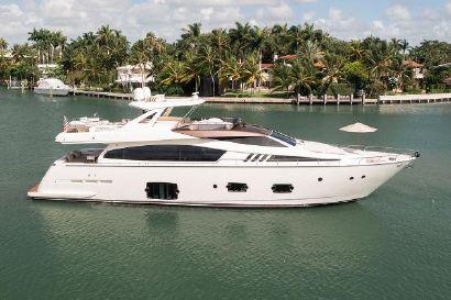 2014 80' Ferretti Yachts-F800 Miami, FL, US