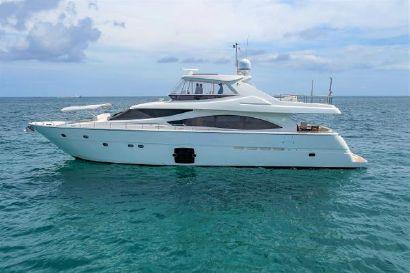 2010 83' Ferretti Yachts-830 Ht Fort Lauderdale, FL, US