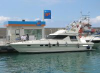 1988 Marine Projects Princess 45 Fly