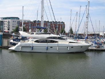 1997 56' 7'' Azimut-58 Hull, E13, GB