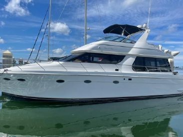 1998 53' 9'' Carver-53 Voyager Clearwater Beach, FL, US