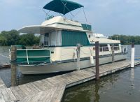 1974 King's Craft House Boat with Bridge
