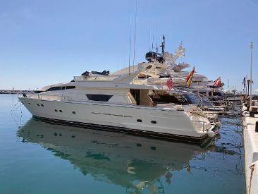 1997 78' 8'' Ferretti Yachts-80 South, ES