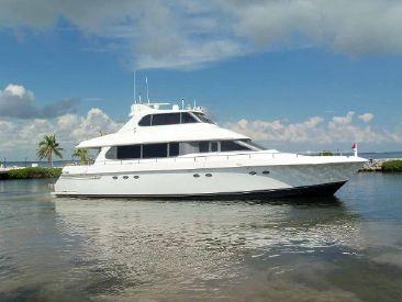 1997 76' Lazzara Yachts-Grand Salon Skylounge Fort Lauderdale, FL, US