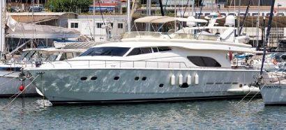 2003 81' 4'' Ferretti Yachts-810 Barcelona, ES