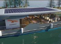 2021 Red Falcon Houseboat Lake Cruiser 40