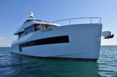 2017 56' 11'' Sundeck Yachts-550 Roma, IT