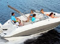 2018 Stingray 201 DC Outboard