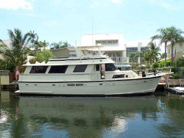 1987 63' Hatteras-Flush Deck Flybridge Motor Yacht Delray Beach, FL, US