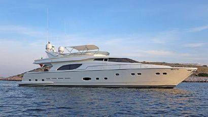 2003 81' 4'' Ferretti Yachts-810 Sukosan, HR