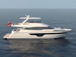 2022 70' Johnson-Motor Yacht w/Flybridge TW
