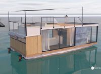 2022 Waterlily Home Office Houseboat