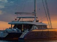 2019 Sunreef 80 sailing