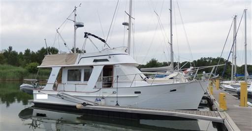 occasion 1991 halvorsen marine trawler gypsy 36 island - var 83 annonces du bateau
