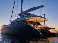 2022 Sunreef 80 sailing