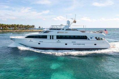2003 100' Hatteras-Motoryacht Miami Beach, FL, US