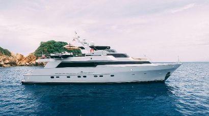 1986 98' Poole Boat Company-Raised Pilothouse with Cockpit Acapulco, MX