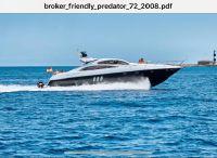2008 Sunseeker Predator 72