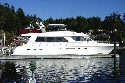 1997 74' Forbes Cooper-Motor Yacht Anacortes, WA, US