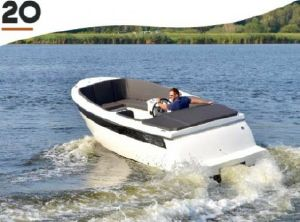 2021 TendR 20 outboard