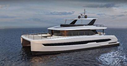 2021 70' 6'' Custom-HYS-70 Power Catamaran TBA, CN