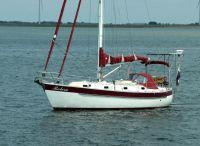 1986 Custom Coast 34 Double Ender