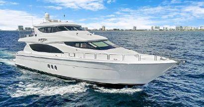 2012 80' Hatteras-Enclosed Bridge Motor Yacht Fort Lauderdale, FL, US