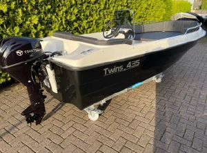 2021 Twins 435 met Tohatsu 9.8 PK nieuw