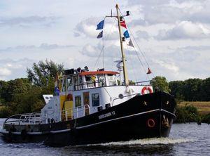 1942 Sleepboot Tug Boat CBB Certificaat!