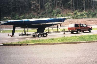 1990 Speciaal gemaakt/Anders 5.5 international class Open zeilboot