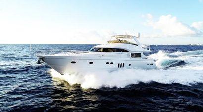 2006 75' Princess-75 Viking Sport Cruiser 2006 Fort Lauderdale, FL, US
