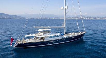 1982 121' 10'' Custom-Aluminum Sailing Yacht Mandelieu La Napoule, 06, FR