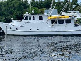 1973 55' Custom-A.E. Hingle Long Range STEEL Trawler North Fort Myers, FL, US