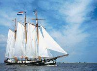1898 Woon/charterschip Klipper Bod Gevraagd