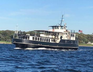 1959 84' Custom-Car Passenger Ferry Conversion to Excursion Dinner Vessel Newport, RI, US