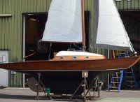 1960 Klassieke zeilboot 7,25m