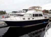 2007 Custom Gulf Harbor Fly Bridge Sedan