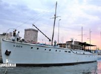 1939 Silver J Bain Twin Screw Motor Yacht